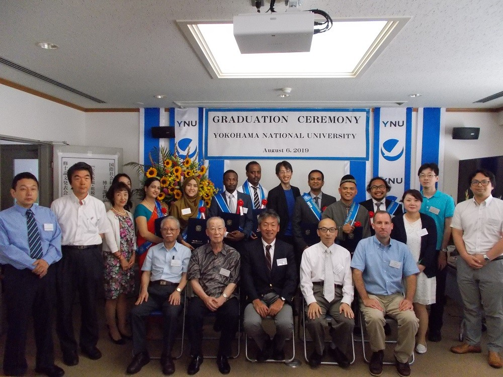 Wisuda karyasiswa PHRD Program Linkage Master di Yokohama National University