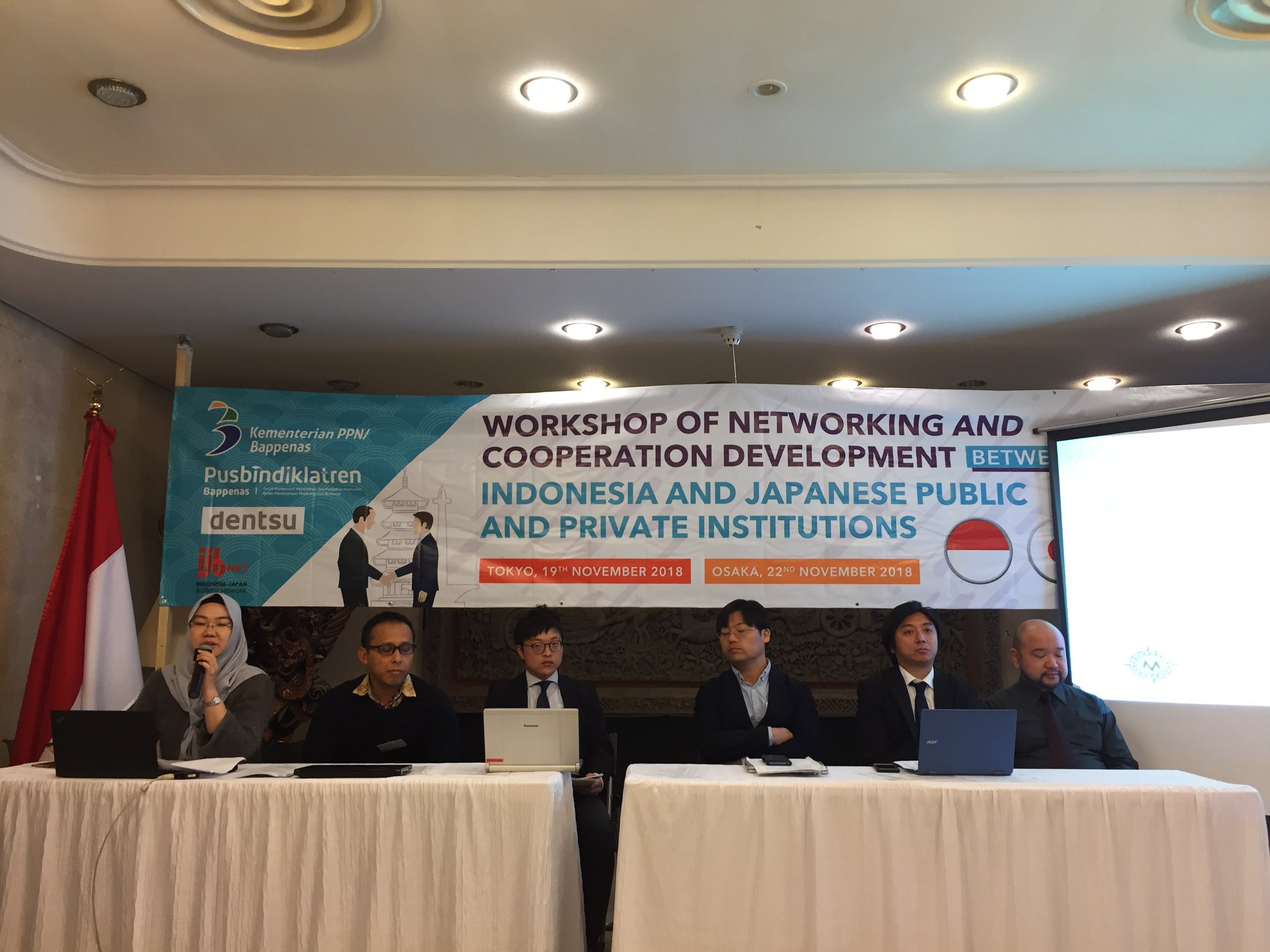 Workshop Networking and Cooperation Development, KJRI Osaka, 22 November 2018